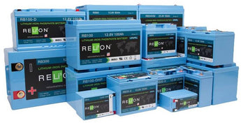RELiON Lithium Iron Phosphate batteries (LiFePO4)