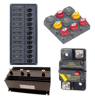 Switches - Panels - Thermal Breakers & Battery Isolators