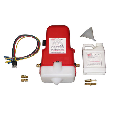 Boat Leveler 12vdc Universal Trim Tab Pump with Oil and Hose Fittings [12700UNIV]