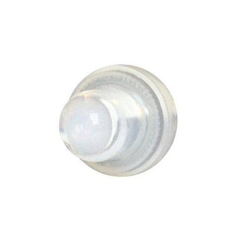 Blue Sea 4135 Push Button Reset Only Circuit Breaker Boot - Clear- 2-Pack [4135]