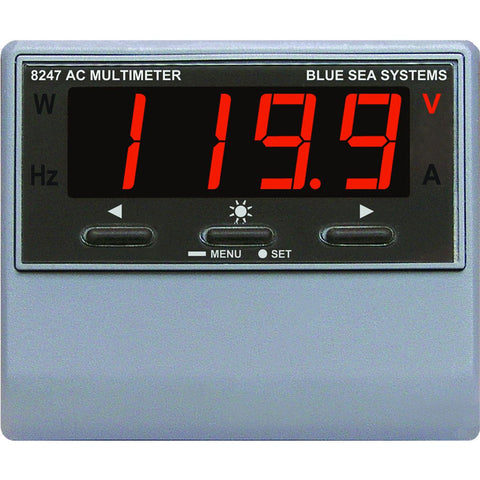 Blue Sea 8247 AC Digital Multimeter with Alarm [8247]