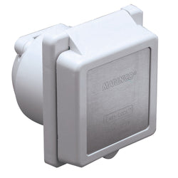 Marinco 301EL-B 30A Power Inlet - White - 125V [301EL-B]