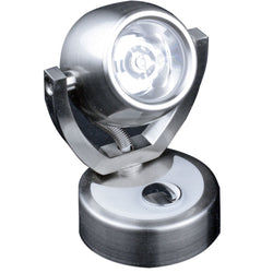 Lunasea Wall Mount LED Light w-Touch Dimming - Warm White-Brushed Nickel Finish - Rotating Light [LLB-33JW-81-OT]
