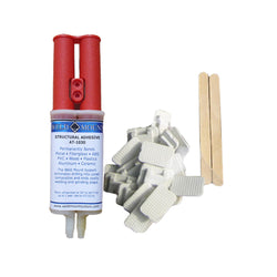 Weld Mount Retail Wire Tie Kit w-AT-8040 Adhesive [1050]