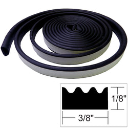 "TACO Weather Seal - 10'L x ""H x 3/8""W - Black [V30-0113B10-1]"