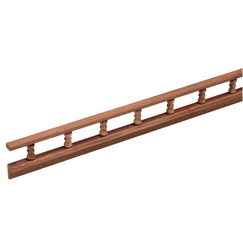 Whitecap Teak L-Type Pin Rail - 5' [60703]