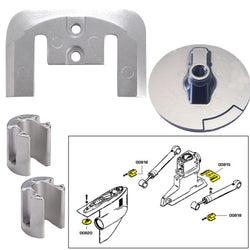 Tecnoseal Anode Kit w/Hardware - Mercury Bravo 2-3 up to 2003 - Magnesium [20804MG]