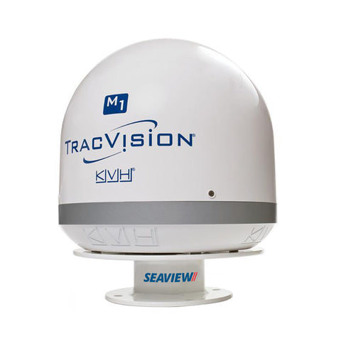 "Seaview 3"" Low Profile Satdome Mount f-KVH M1-M1DX-TV1, Intellian i1 & i2, Raymarine 33STV [AMA-GXF]"