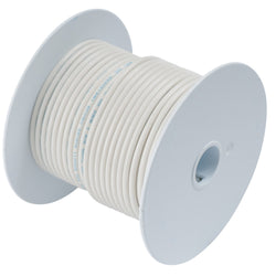 Ancor White 10 AWG Tinned Copper Wire - 100' [108910]