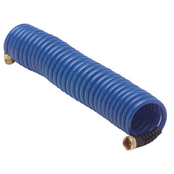 HoseCoil Blue Hose w-Flex Relief - 25' [HS2500HP]