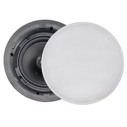 FUSION MS-CL602 Flush Mount Interior Ceiling Speakers (Pair) White [MS-CL602]