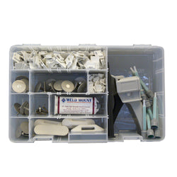 Weld Mount Executive Adhesive & Fastener Kit w-AT-8040 Adhesive [1001003]