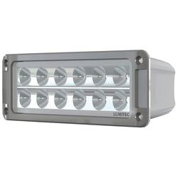 Lumitec Maxillumeh60 - Flush Mount Flood Light - White Housing - White Dimming [101336]