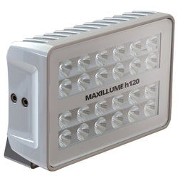 Lumitec Maxillume h120 - Trunnion Mount Flood Light - White Housing - White Dimming [101346]