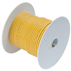 Ancor Yellow 10 AWG Tinned Copper Wire - 25' [109002]