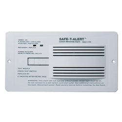 Safe-T-Alert 65 Series RV Flush Mount Carbon Monoxide Alarm [65-542-WHT]