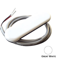 Shadow-Caster Courtesy Light w/2' Lead Wire - White ABS Cover - Great White - 4-Pack [SCM-CL-GW-4PACK]