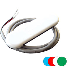 Shadow-Caster Courtesy Light w/2' Lead Wire - White ABS Cover - RGB Multi-Color - 4-Pack [SCM-CL-RGB-4PACK]