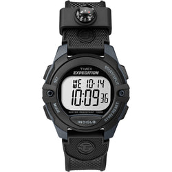 Timex Expedition Chrono-Alarm-Timer Watch - Black [TW4B07700JV]