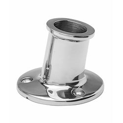 "Taylor Made 1"" SS Top Mount Flag Pole Socket [965]"