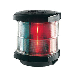 Hella Marine Tri-Color Navigation Light - Incandescent - 2nm - Black Housing - 12V [002984535]