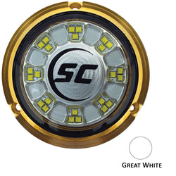 Shadow-Caster SCR-24 Bronze Underwater Light - 24 LEDs - Great White [SCR-24-GW-BZ-10]