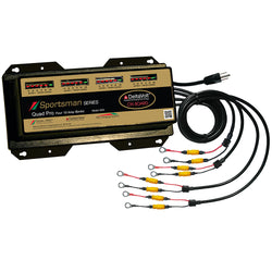 Dual Pro Sportsman Series Battery Charger - 40A - 4-10A-Banks - 12V-48V [SS4]
