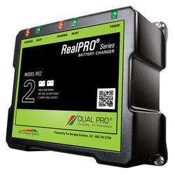 Dual Pro RealPRO Series Battery Charger - 12A - 2-6A-Banks - 12V-24V [RS2]