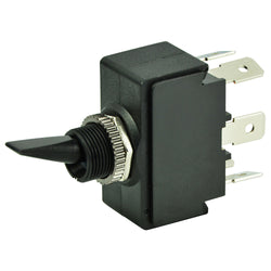 BEP DPDT Toggle Switch - ON-OFF-ON [1001905]