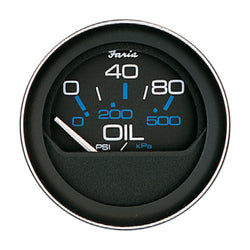 "Faria 2"" Oil Pressure Gauge 80 PSI [13002]"