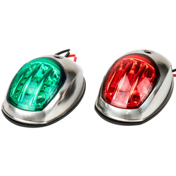 Sea-Dog Stainless Steel LED Navigation Lights - Port  Starboard [400070-1]