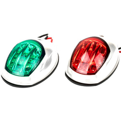 Sea-Dog White LED Navigation Lights - Port  Starboard [400071-1]