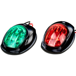 Sea-Dog Black LED Navigation Lights - Port  Starboard [400073-1]