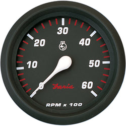 "Faria Professional Red 4"" Tachometer - 6,000 RPM [34607]"