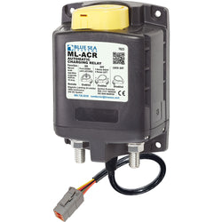 Blue Sea 7623100 ML ACR Charging Relay 24V 500A w-Manual Control  Deutsch Connector [7623100]