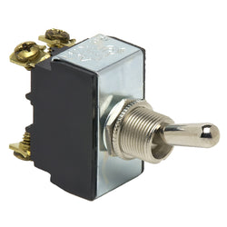 Cole Hersee Heavy Duty Toggle Switch DPST On-Off 4-Screw [5588-BP]