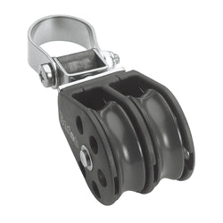 Barton Marine Series 2 Double Stanchion Lead Block - 35mm [N02 290]