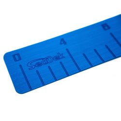 "SeaDek 4"" x 36"" 3mm Fish Ruler w-Laser SD Logo - Bimini Blue [22135-80129]"