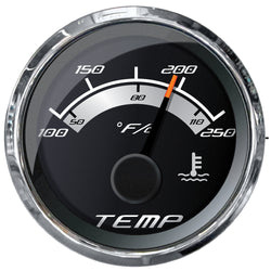 "Faria Platinum 2"" Water Temp Gauge (100-250F) [22017]"