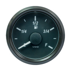"VDO SingleViu 52mm (2-1/16"") Fuel Level Gauge - E/F Scale - 0-180 Ohm [A2C3833120030]"
