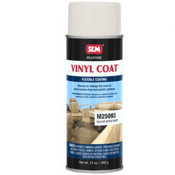 SEM Vinyl Coat - Sea Ray Mystic White - 12oz [M25093]