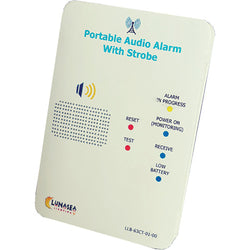 Lunasea Controller f/Audible Alarm Receiver w/Strobe Qi Rechargeable [LLB-63CT-01-00]