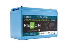 RELiON Deep Cycle Lithium Batteries RB100 12V 100Ah LiFePO4 Battery