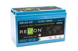 RELiON RB100-HP Lithium 12V 100Ah LiFePO4 Battery