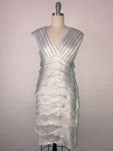 Silver Truffled Dress
