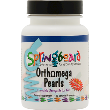 Orthomega Pearls (120 Chewable Soft Gel Pearls)
