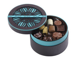 BOÎTE RONDE COLLECTION CACAO MARRON