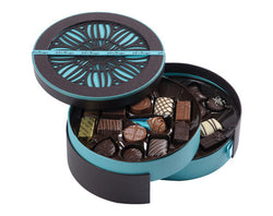 BOÎTE RONDE COLLECTION CACAO MARRON GRAND MODEL