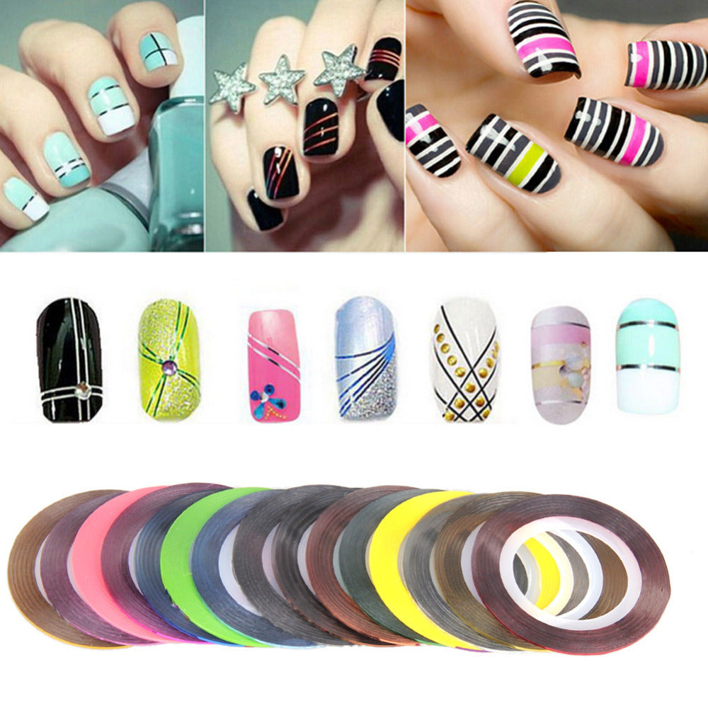 Nail Stripe Stickers For Nail Art Beauty-Decorchy Artistic Decoration