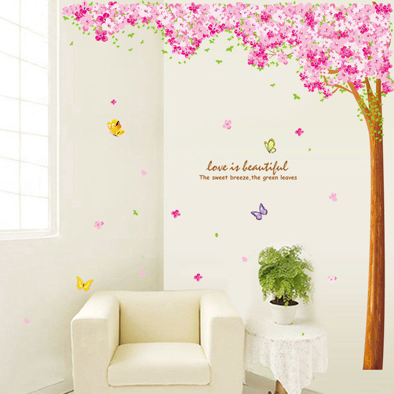 sc 1 st  Decorchy & Cherry Blossom Wall Decal-Stickers Pink Tree Decoration By Decorchy